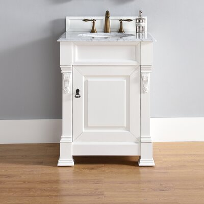 Brookfield 26 Single Bathroom Vanity Set Top Thickness: 4cm