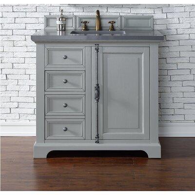 Providence 36 Single Urban Gray Bathroom Vanity Set Top Thickness: 4cm