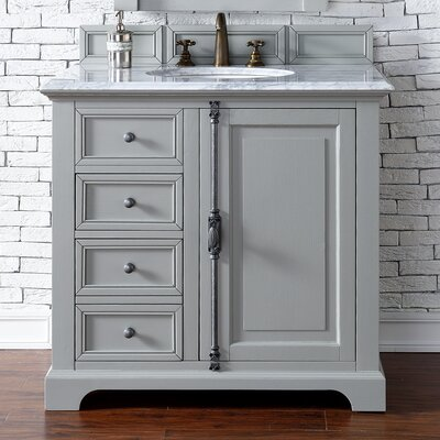Providence 36 Single Urban Gray Bathroom Vanity Set