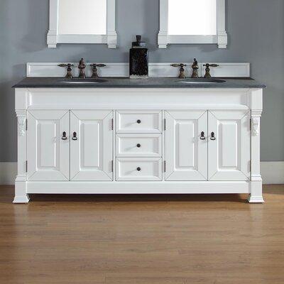 """Brookfield 72"""" Double Bathroom Vanity Base Base Finish: Cottage"""