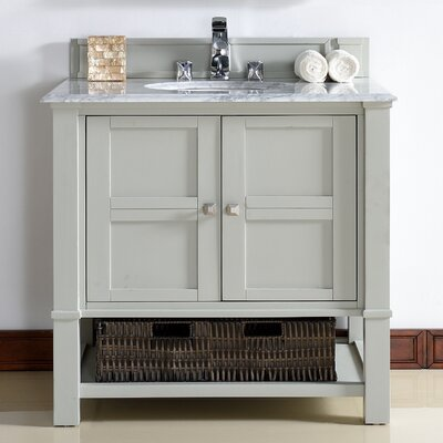 Westminster 36 Single Dove Gray Bathroom Vanity Set
