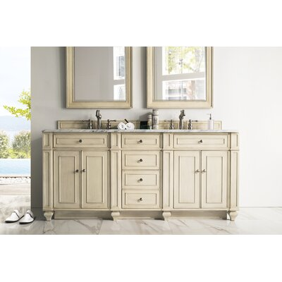 Lambrecht 72 Double Bathroom Vanity