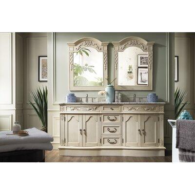 Blue Hills 72 Double Bathroom Vanity Set