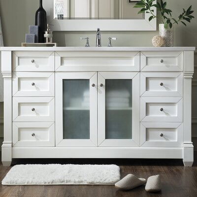 Laliberte 60 Single Modern Bathroom Vanity Set