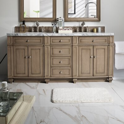 Lambrecht 72 Double Bathroom Vanity Base
