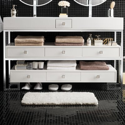 Ignacio 59 Double Bathroom Vanity Set