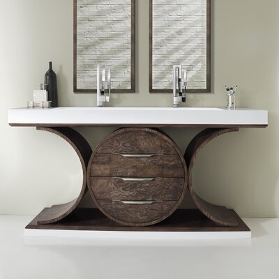 Jordin 72 Double Bathroom Vanity Set