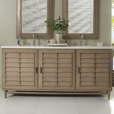 Musson 72 Double Bathroom Vanity Base