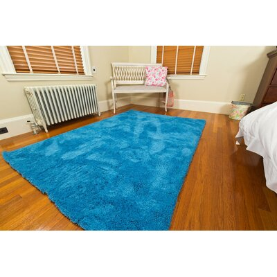 Super Soft Blue Area Rug