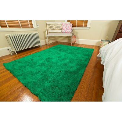 Super Soft Green Area Rug