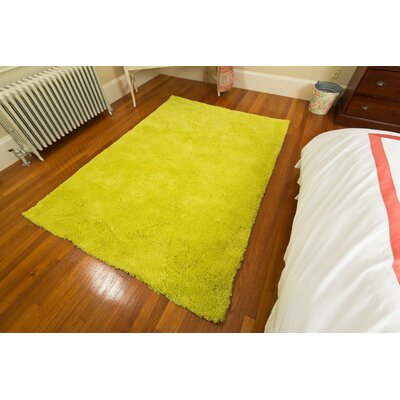 Super Soft Yellow Area Rug