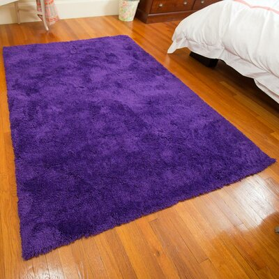 Super Soft Violet Area Rug