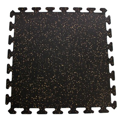 Interlocking Floor Recycled Rubber Tiles