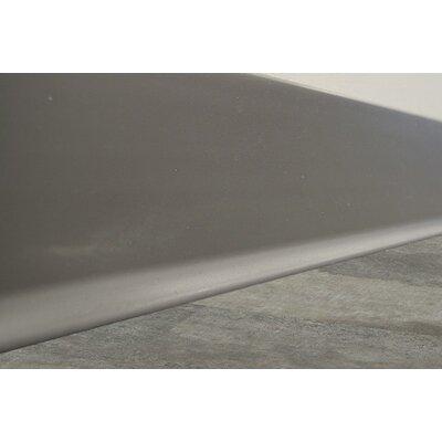 1440 x 4 Cove Base Tile Trim in Gray
