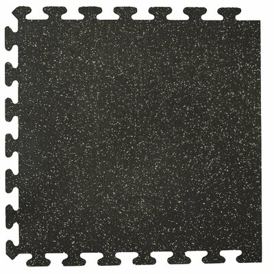 iFlex Interlocking Fitness Recycled Rubber Tiles