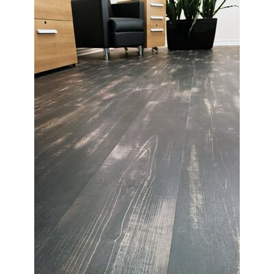 Power Click 7 x 47.75 x 5mm Luxury Vinyl Plank in Carbon Oak