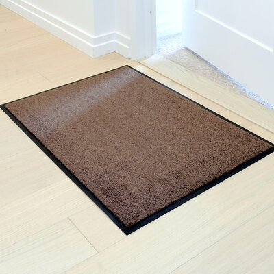 Easy Clean Entrance Doormat Color: Beige