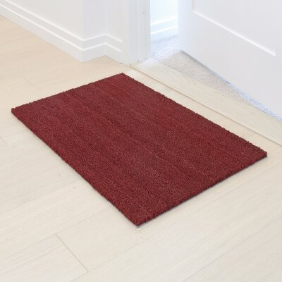 Vibrancy Coco Entrance Doormat Color: Red