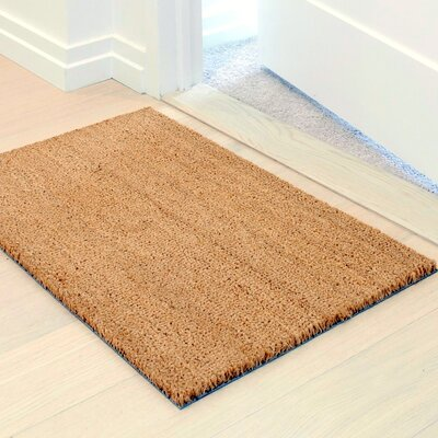 Vibrancy Coco Entrance Doormat Color: Natural