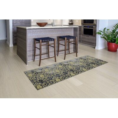 Gerda All Weather Modern Runner Kitchen Mat Mat Size: 22 x 67