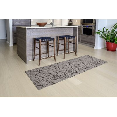 Queen Charlton All Weather Modern Runner Kitchen Mat Mat Size: 22 x 67