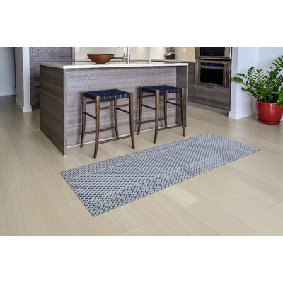 Oberle All Weather Modern Runner Kitchen Mat Mat Size: 22 x 67