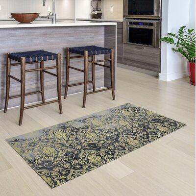 Gerda All Weather Modern Runner Kitchen Mat Mat Size: 22 x 39