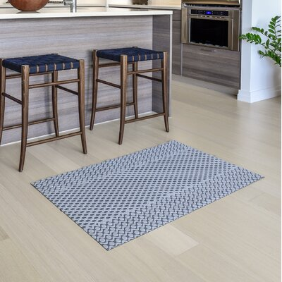 Oberle All Weather Modern Runner Kitchen Mat Mat Size: 22 x 39