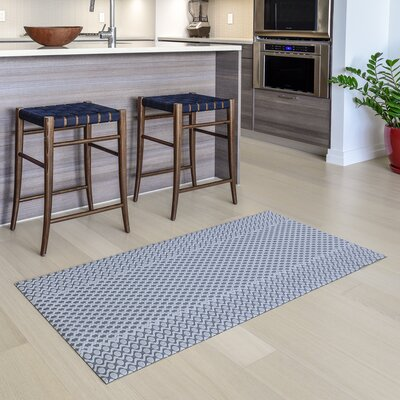 Oberle All Weather Modern Runner Kitchen Mat Mat Size: 22 x 411