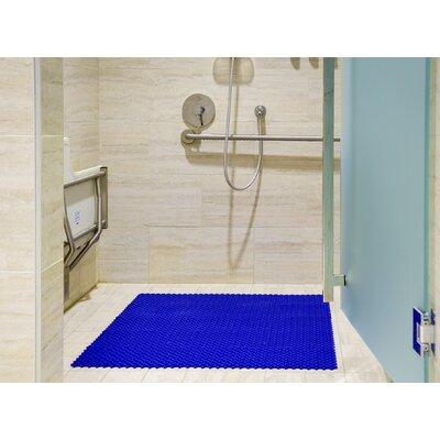 Aqua Safe 8 x 8 Vinyl Mosaic Tile in Ocean Blue