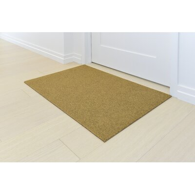 Doormat Mat Size: Rectangle 2 x 3, Color: Natural