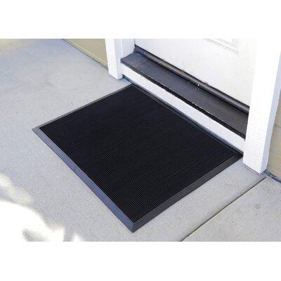 Brush Klean Fingertip Doormat Mat Size: Rectangle 2 x 28