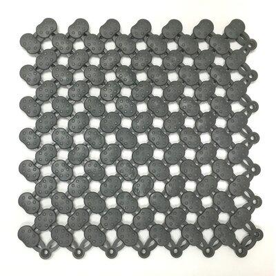 Aqua Safe 8 x 8 Vinyl Mosaic Tile in Graphite