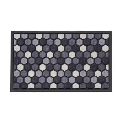 Crymble Doormat Color: Graphite Hex