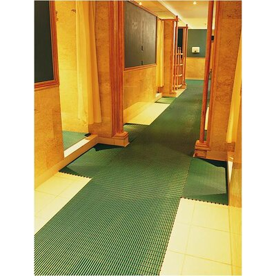 Worlds Best Barefoot Anti-Slip Doormat Size: 2 x 30, Color: Forest Green