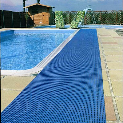 Worlds Best Barefoot Anti-Slip Doormat Size: 2 x 30, Color: Libght Blue