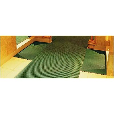 Worlds Best Barefoot Anti-Slip Doormat Size: 2 x 6, Color: Forest Green
