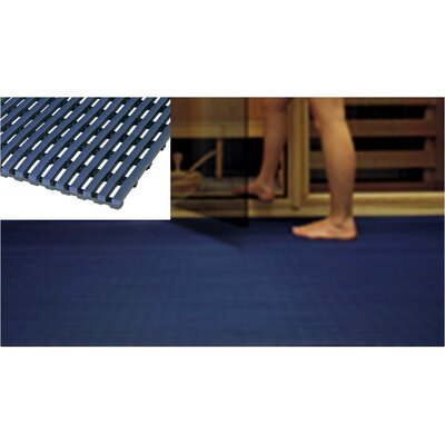 Worlds Best Barefoot Anti-Slip Doormat Size: 2 x 6, Color: Oxford Blue