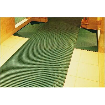 Worlds Best Barefoot Anti-Slip Doormat Size: 3 x 10, Color: Forest Green