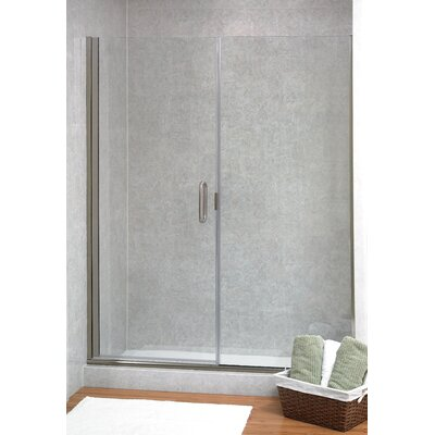 Coastal Industries Paragon Illusion Series C-Pull Frameless Shower Door & Inline Panel (2 Pieces) -Trim Finish:Oil Rubbed Bronze, Configurations:L at Sears.com