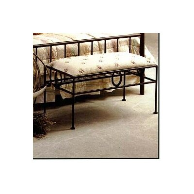 Frontier Upholstered Bedroom Bench Color: Satin Black