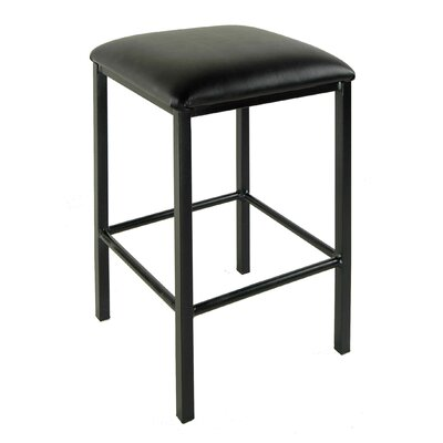 24 Bar Stool Finish: Satin Black