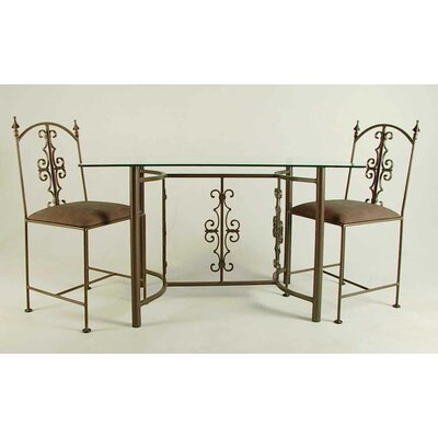 Gothic Dining Table Finish: Antique Bronze