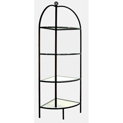 Corner Baker's Rack Finish: Antique Bronze