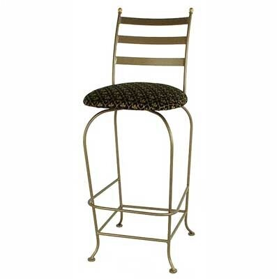 "Credit for Carolina 24"" Swivel Barstool..."