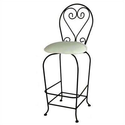 Karol 24 Swivel Metal Frame Bar Stool