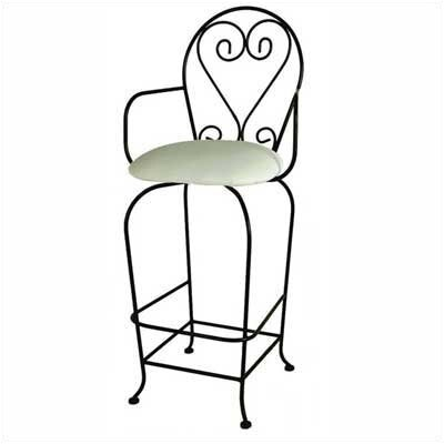 French 30 Swivel Bar Stool