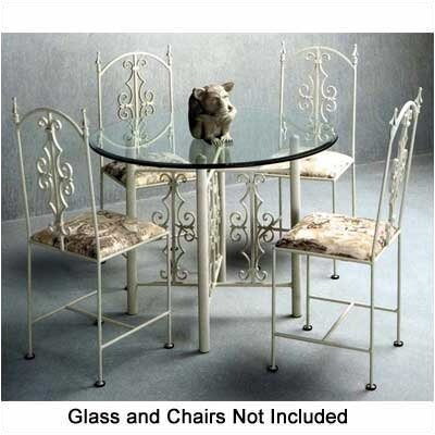 Grace Gothic Large Dining Table Base Metal Finish: Burnished Copper (GG1282_170642)