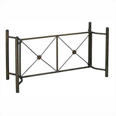 Neoclassic Large Dining Base Finish: Aged Iron