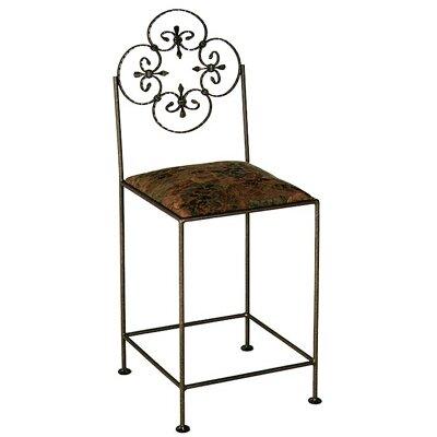 Grace Florentine Bar Side Chair - Finish: Jade Teal, Fabric: Cimarron Levante at Sears.com